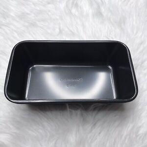 Calphalon Non-Stick Loaf Pan 9x5 Bread Baking Dark Gray