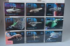 "STAR TREK THE NEXT GENERATION .SKYBOX 1995 ""SHIPS INC TIN MAN""  X 9"