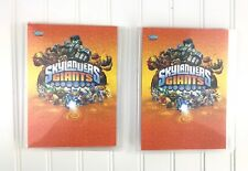 Topps Skylanders Giants Collectors Checklist Guide Trading Cards Holders 35 Card