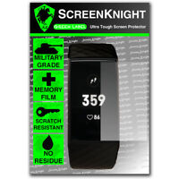 ScreenKnight FITBIT Charge 3 / iii SCREEN PROTECTOR Military Shield - pack of 1