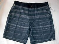 VANS Shorts Boro Deck Siders Water Friendly Navy Blue & Ivory Mens