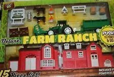 Playtek Deluxe Farm Ranch 15-Piece Set