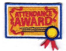 Boy Girl Cub ATTENDANCE AWARD Fun Patches Crests Badges SCOUTS GUIDE good great