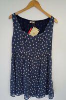 Pin Up 50 Style Polkadot Dress Size 16 By Love Label BNWT