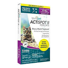 TevraPet Actispot Ii for Cats- 5-9 lbs, 6 doses
