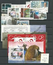 2009 MNH Greenland year collection