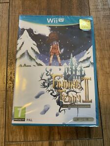 Finding Teddy II 2 Definitive Edition Nintendo Wii U Sealed Rare Limited 1580
