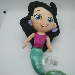 "Disney Store - Marina The Mermaid 14"" Jake and the Neverland Pirates Plush Toy"