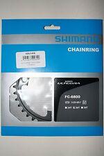 Kettenblatt Shimano Ultegra 36 Zähne FC-6800, 2 x 11, Alu,schwarz, Neu