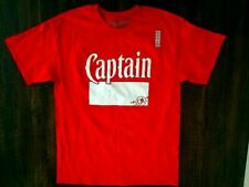 "New - CAPTAIN MORGAN ""Captain"" Logo T-Shirt - LARGE"