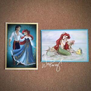2013 Disney Designer Couples Princess Little Mermaid + Art of Ariel Note Cards