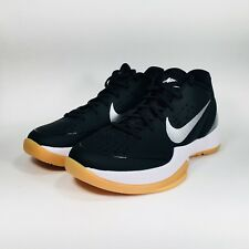 Nike Air Zoom Hyperattack Volleyball Shoes Black White Gum Size 5 (881485-001)