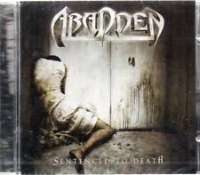 Abadden - Sentenced To Death CD - New & Sealed