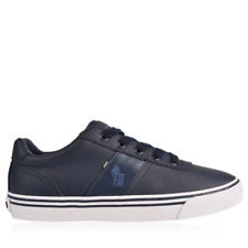 POLO RALPH LAUREN Leather Hanford Low Top Trainers Mens UK 11 US 12 EUR 45*908