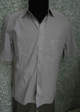 180 1m Eterna BLACKLINE Camisa KW 40 M We ISS Beige Mini Cuadros Cuello KENT