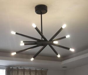 black/white/chrome LED metal ceiling light Restaurant lighting pendant lamp new