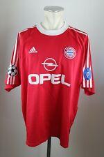 FC Bayern München Trikot 2001 CL Sieger Gr. XXL Adidas Opel Sieger