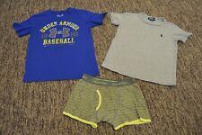 Polo Ralph Lauren Under Armour Boys Lot Of 2 Shirts T-Shirt Tees Tops 3 4 5