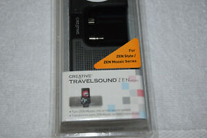 Creative TravelSound Zen Mozaic Docking  & External Portable Speaker New Retail.