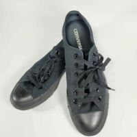Converse CT All Star Unisex Sneakers Black M5039 Lace Up Shoes M 6.5 W 8.5
