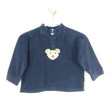STEIFF Fleece Pullover Blau Gr. 110