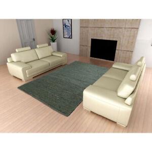 Modern Area Rugs Natural Jute Floor Mat Nonslip Home Living Room Rugs Carpet 4x6