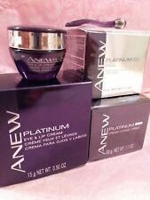 AVON Anew Platinum Day Cream 25, Platinum Night Cream & Platinum Eye & Lip Cream