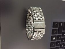 Genuine Emporio Armani Stainless Steel Watch Bracelet 18mm Authentic