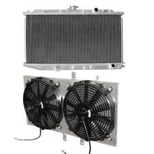 ALUMINIUM HIGH FLOW RACE RADIATOR+Fan Shroud fits 88-91 HONDA CIVIC CR-X CRX