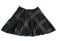 Reworked Vintage 70's Pleated Mini Skirt Retro Boho 6