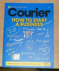 Courier magazine How to Start a Business 2021. Launch a successful new venture
