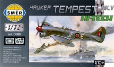 TEMPEST Mk V (80TH SQN RAF, 122ND SQN RAF & PIERRE CLOSTERMAN MKGS) 1/72 SMER
