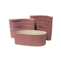 WEN Sanding Belt Sandpaper Belt Sander  60 Grit 3 x 21 Inch 10 Pack