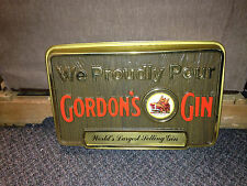 1960S/70S WE PROUDLEY POUR GORDONS GIN VACUUM FORM SIGN