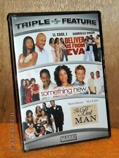 Deliver Us From Eva/Something New/The Best Man (DVD, 2012, 3-Disc) NEW romance