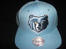 huge selection of 26744 89018 Mitchell   Ness Memphis Grizzlies Team Logo Snapback - Smoke Blue