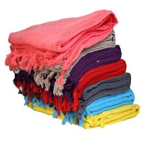 Turkish Cotton Towels Hammam Towels Soft Beach Towels Peshtemal Fitness Sauna