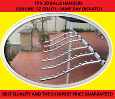 12 Waterfall Garment clothing Hanger Rack 10 Bead 4 Market Stall Gazebo Marquee