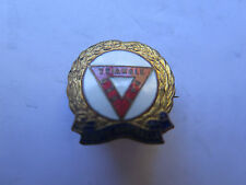 WORLD WAR I SOUTH AUSTRALIAN YMCA RED TRIANGLE DAY DIGGERS FUND RAISING BADGE