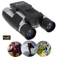 """Foldable FS608 2"""" LCD Display Digital Camera Binoculars 12x32 5MP Recorder Hunt"""