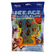 Curso de colisión de Edad de Hielo, Paquete De Actividad-Colorear Puzzles, lápices de colores, cartel,...
