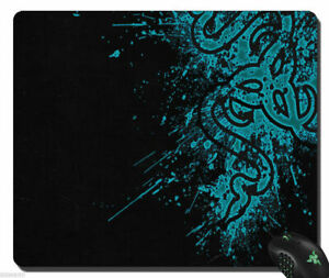 Razer Goliathus Gaming Mouse Pad Blue Speed Edition Soft Mat Size 355x 440x 3mm