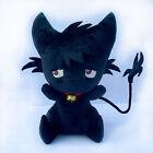 35cm SERVAMP Shirota Mahiru Kuro Plush Doll Toy Black Cat SleepyAsh Cosplay Gift
