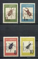 26936) Albania 1963 MNH Insects 4v
