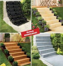 Terrassentreppen 5 Stufen Modulesca Gartentreppen Außentreppen Treppenmodul