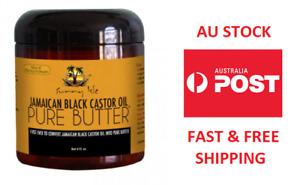 Sunny Isle Jamaican Black Castor Oil PURE BUTTER 4oz AU STOCK