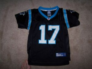 Carolina Panthers Jake Delhomme Reebok Toddler Size Large Jersey NFL Black