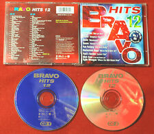 BRAVO HITS 12 1996 2 CD Set Queen PUR Nick Cave COOLIO Oasis TOTE HOSEN Dune CDs