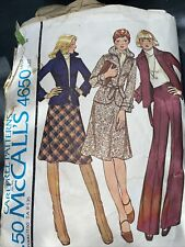 carefree patterns from mccalls 4650 Used