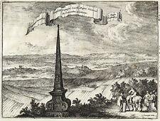 BAD WÜNNNENBERG - STADT UND UMGEBUNG - de Hooghe - Kupferstich 1672